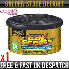 CALIFORNIA CAR SCENT GOLDEN STATE DELIGHT AIR FRESHENER HOME VAN OFFICE TAXI x 1