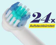 24 x Bürstenköpfe kompatibel Oral B Bürstenkopf SB-17A Ersatzbürsten