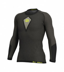 Ale Baselayer Long Sleeve Jersey S1 Fall Grey|BRAND NEW