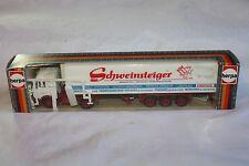 Vintage Herpa Mercedes-Benz Lorry, 1:87, Schweinsteiger Livery, in Original Box