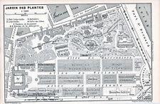 75 Paris - Jardin des Plantes 1896 pt. plan orig. Allée de Tilleuls Volière Ours