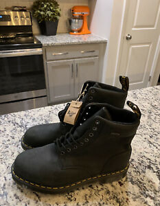 Dr. Martens 1460 Waterproof WP Boots US Mens Size 11 Black New Without Box