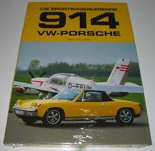 Bildband Sport Wagen Legende VW Porsche 914 Thomas Lang Sportwagenlegende NEU!