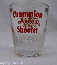 Arrow Schnapps Shot Glass Champion Shooter Shotglass