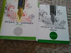 Apologia Writers in Residence Vol. 1 SET (Student Text/Workbook and Answer Key)