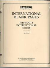 Pkg. of 20 SCOTT ACC130 International Blank Pages