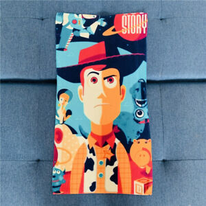 toy story woody face towel kids hand towels unisex sweet gift 35x67cm gift