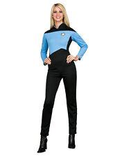 """Star Trek Blue Womens Costume S (USA 6-10) BUST 36-38"""" WAIST 27-30"""" LEG 29"""""""