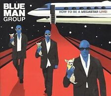 BLUE MAN GROUP - HOW TO BE A MEGASTAR 2.1 (+DVD) (DIGIPAK) NEW SEALED DOUBLE CD