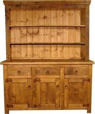SOLID WOOD BESPOKE DRESSER CUPBOARD SIDEBOARD BASE RUSTIC PLANK PINE FURNITURE