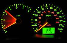 10 Chevrolet Blue Green LED Turn Signal Hi-Beam Dash Light Bulb Lamp 73 74 NOS