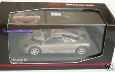 Minichamps - McLaren F1 ( BMW V12 ) Road Car - Grey - 1/43  NEW