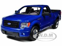 2010 FORD F-150 STX PICKUP TRUCK BLUE 1/27 DIECAST MODEL CAR BY MAISTO 31270