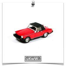 Spark 1/43 - MG Midget Mk IV 1974 rouge/softtop noir