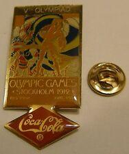 Pins coca cola Olympics STOCKHOLM 1912 Vth OLYMPIAD