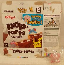 Pokemon Battle Figure Chansey With Pop Tarts Box Kellogg's Mint In Sealed Bag