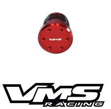 VMS RACING 2004-2010 GM 6.6 LLY LBZ LMM DURAMAX PCV REROUTE MOUTHPIECE PLUG RED