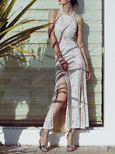 Vestito Lungo Donna Copricostume Casual Mare Feste Woman Maxi Dress 110254 - B P