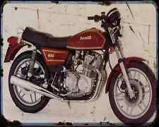 Benelli 650 Tornado 80 A4 Metal Sign Motorbike Vintage Aged