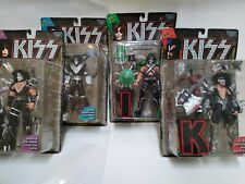 Kiss Ultra Action Figures McFarlane Toys Set of 4 Ace Gene Peter Paul -1997