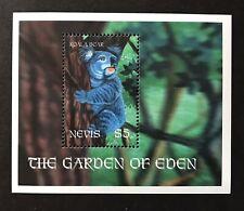 NEVIS 2001 MNH THE GARDEN OF EDEN KOALA BEAR SOUVENIR SHEET WILD ANIMALS STAMPS