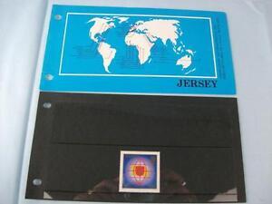 Jersey Stamp presentation pack 'A.I.P.L.France'  Issued 1983, 1 Stamp