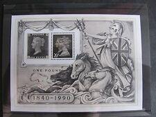 MS1501 1990 Stamp World Exhibition Royal Mail Miniature Sheet. MNH.