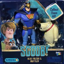 New - BLUE FALCON & MUTTLEY Action Figures - SCOOB! Movie Scooby-Doo 2-Pack