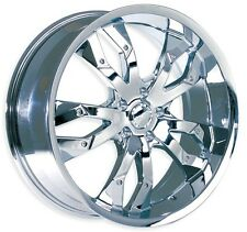 "Brand New MK-20 wheel 17"" Chrome 5x120 (Set of 4)"