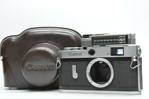 [EXC w/ METER Case] Canon P 35mm Rangefinder Film Camera Body from JAPAN