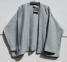 NWT Eskandar DOLPHIN HEAVY WEIGHT Linen  Open Jacket  (1) $690