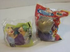 1999 Burger King - Rosie O'Donnell Kid's Choice Awards TOY GLOBE + Catdog in bed