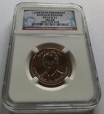 2016-D NGC MS68 RONALD REAGAN PRESIDENTIAL $1 TOP POP!!!!!!