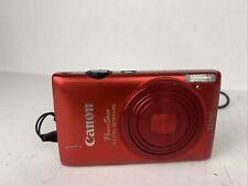 Canon PC1591 PowerShot ELPH 300 HS 12.1 MP Digital Camera (Red)