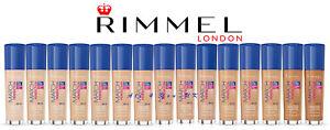 Rimmel Match Perfection Foundation 30ml - SPF 20/ SPF 15 - Please Choose Shade