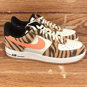 Nike Air Force 1 Low Premium 'Daktari Stripes' [DJ6192 100] Men's Size 11