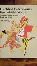 Very Rare Diaghilev's Ballets Russes - Paper Dolls in full Color (1986)