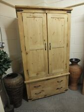 RECLAIMED GENTS 2 DOOR WARDROBE HAND MADE RUSTIC BESPOKE SIZES COLOURS