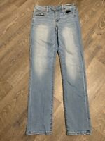 American Eagle Super Stretch Denim Skinny Jeans Women's 2 Light Wash Mid Rise