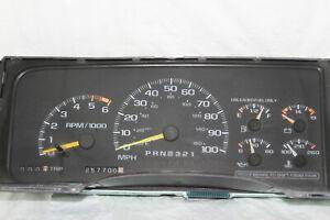 Speedometer Instrument Cluster 95-2000 GMC/Chevy/Tahoe/Suburban 257,700 Miles