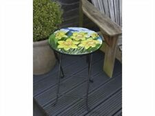 Round Glass Up to 2 Seats Garden & Patio Tables