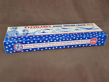 """5 NEW-OLD STOCK 1950's""""CLEVELAND'S"""" MODEL AIRPLANE BOXES-EMPTY,GREAT FOR DISPLAY"""