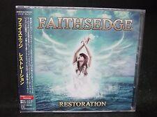 FAITHSEDGE Restoration + 1 JAPAN CD Dokken Stryper Burning Rain Eden's Curse