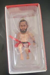 "UFC MMA Street Jesus ""Gamebred"" JORGE MASVIDAL BMF Champ Christmas Ornament"