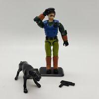Vintage 1992 GI JOE MUTT & JUNKYARD v3 Action Figure Cobra ARAH with Gun + Stand