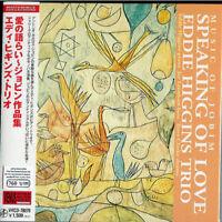 EDDIE HIGGINS TRIO-MUSIC OF JOBIM SPEAKING OF LOVE-JAPAN MINI LP CD C75
