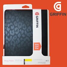 Griffin GB03848 for iPad 4 3 2 Moxy Folio Case Cover Feature (Black&Red)