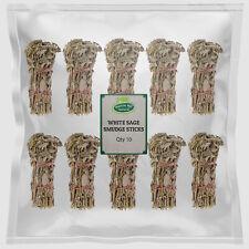 Dried Wild White Sage Smudge Incense Sticks x 10 - Hatton Hill