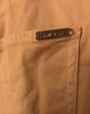 "ST.JOHN By MARIE GRAY Sz 8 Stretch DENIM Butterscotch Cotton Blend Inseam 31""EUC"