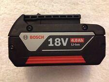 New Bosch BAT620 18V 18 Volt 4.0Ah Lithium Ion Battery FatPack Li-ion